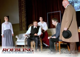 'ROEBLING: The Story of The Brooklyn Bridge' Prepares For A New York Run